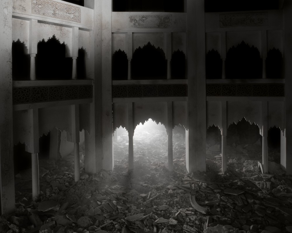 Wafaa Bilal - The Ashes Series: Dark Palace.
